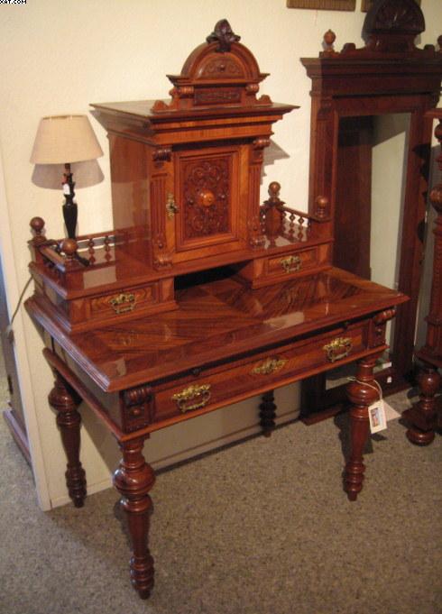 gr nderzeit damenschreibtisch artikel details antik alteschmiede. Black Bedroom Furniture Sets. Home Design Ideas