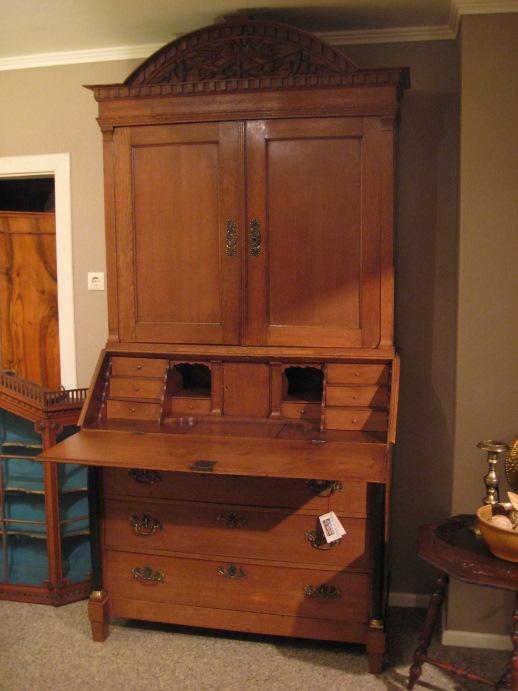 empire aufsatz sekret r artikel details antik alteschmiede. Black Bedroom Furniture Sets. Home Design Ideas